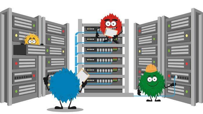 Hosting domen i serwerów